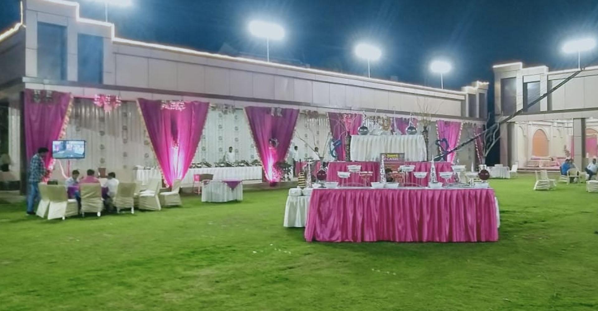 Wedding and Birthday Celebration Gardens